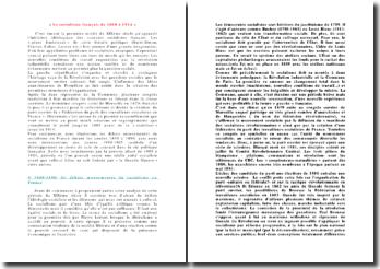 Le socialisme français de 1880 à 1914
