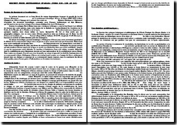 Decret pour Orthagoras d'Araxa (vers 130-120 av J.-C)