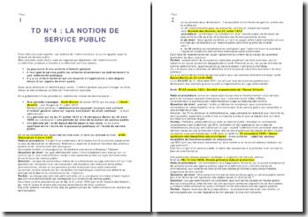 La notion de service public - approche historique depuis l'arrêt Blanco