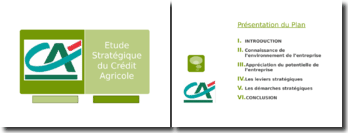 Etude stratégique du Crédit Agricole