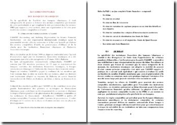 Le cadre comptable des banques islamiques