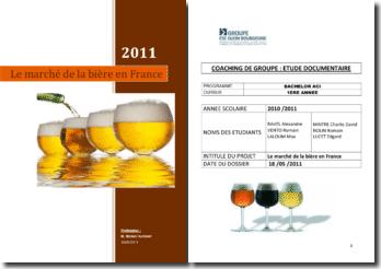 Le marché de la bière en France
