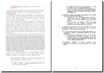 Commentaire d'arrêt, 25 janvier 1991, Brasseur