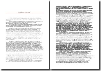 Les groupes de contrats et les effets relatifs aux conventions