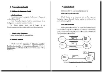 Introduction à l'audit