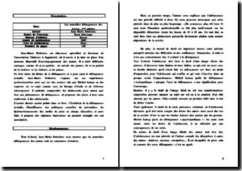 Les nouvelles délinquances des jeunes, Jean-Marie Petitclerc, 2005