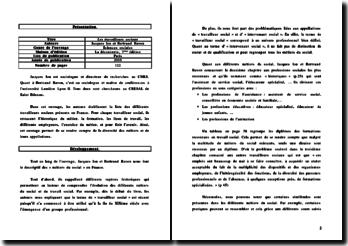Les travailleurs sociaux, Jacques Ion et Bertrand Ravon, 2005