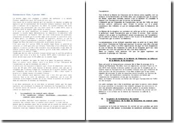 Cour de cassation, chambre commerciale, 7 janvier 1981: le contrat entre absent