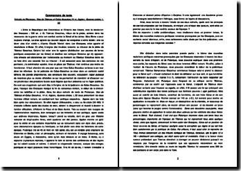 Extraits de Plutarque, Vies de Tibérius et Caïus Gracchus,14 et, Appien, Guerres civiles, I, 22