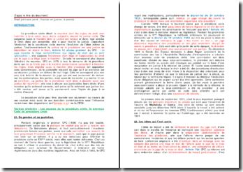 Droit judiciaire privé : l'action en justice, le procès