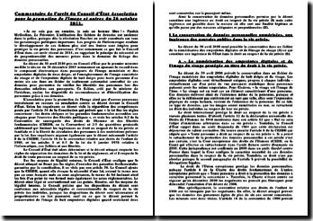 Conseil d'Etat, 26 octobre 2011: association pour la promotion de l'image