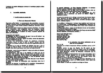 L'évolution des modèles idéologiques américain et soviétique jusqu'au milieu des années 60