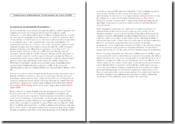 Commentaire d'affirmation : le mécanisme du renvoi en droit international public (DIP)