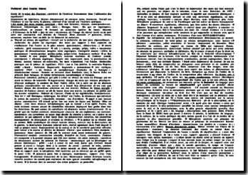 Etude de la route des Flandres et de la poéticité de l'écriture dans l'utilisation des signifiants chez Claude Simon