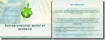 L'entrepreneuriat social et solidaire: peut-on concilier approche économique et actions sociales?