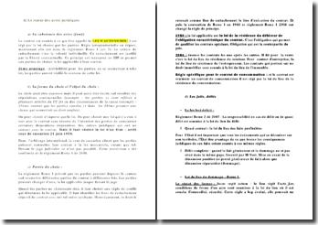 Le statut des actes juridiques en droit international privé