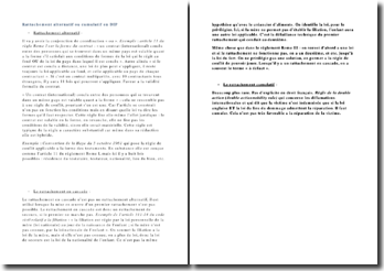 Le rattachement alternatif, cumulatif ou en cascade en droit international privé