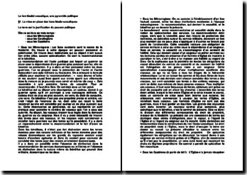 Le lien féodal-vassalique, une pyramide politique