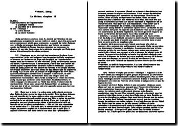 Zadig, chapitre 11: le bûcher - Voltaire