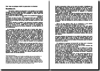 Droit : deux cas pratiques relatifs à la procuration et la donation