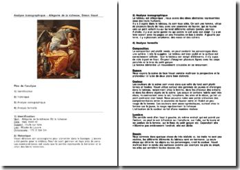 Analyse iconographique: Allégorie de la richesse - Simon Vouet