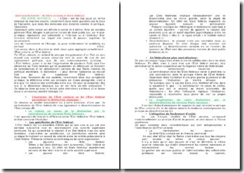Droit constitutionnel : les états unitaires et états fédéraux