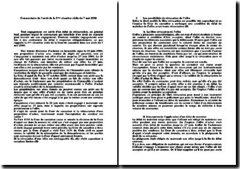 Cour de cassation, Chambre civile, 7 mai 2008: la révocation de l'offre