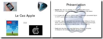 Etude de cas: le marketing stratégique de Apple