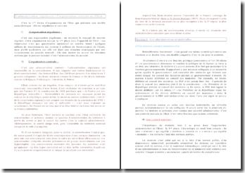 L'administration régalienne : l'organisation centrale de l'Etat