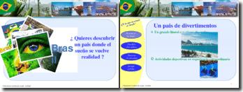 Presentacion turistica de un pais : le Brasil