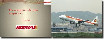 Presentación de una empresa : Iberia