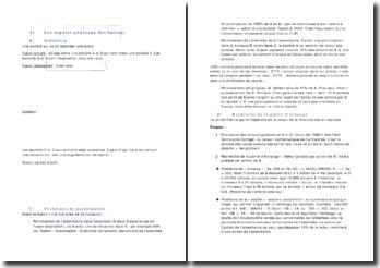 La fusion des sociétés: aspects généraux et comptables