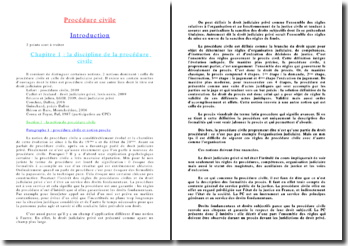 Procédure civile : l'action en justice