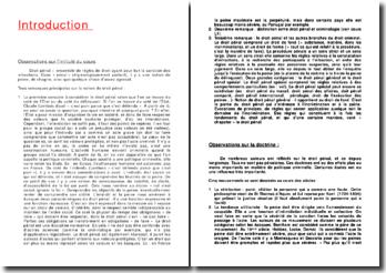 Droit pénal: ensemble de règles de droit ayant pour but la sanction des infractions