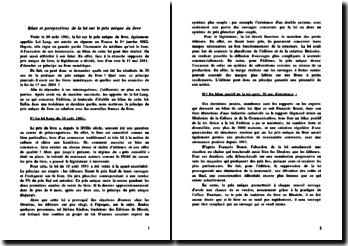 Bilan et perspectives de la loi sur le prix unique du livre: les résultats 30 ans après