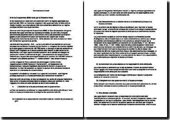 Cour de cassation, Chambre mixte, 6 septembre 2002: les quasi-contats et les fausses promesses