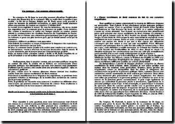 Droit administratif - étude de cas: les contrats administratifs