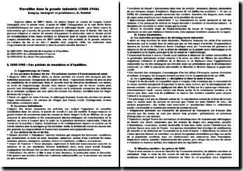Longwy, immigrés et prolétaires - G. Noiriel : travailler dans la grande industrie (1880-1946)