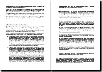 Démocraties, chapitre 1 - Jean Baechler: l'homo democraticus