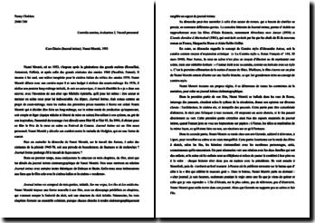 Caro Diario (Journal intime), Nanni Moretti, 1993: analyse de sa démarche sur le travail des formes
