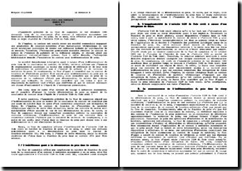 Cour de cassation, assemblée plénière, 1er décembre 1995: l'indétermination du prix à la conclusion du contrat