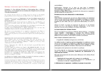 Gouverner (par) les finances publiques, chapitre 1, La réforme fiscale et l'invention des classes moyennes, l'exemple de la création de l'impôt sur le revenu - Nicolas Delalande