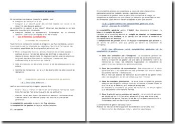 Les objectifs de la comptabilité de gestion