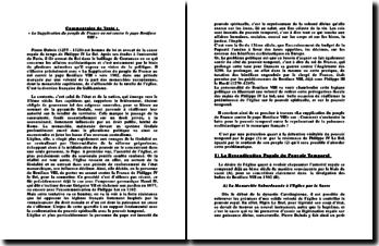 La Supplication du peuple de France au roi contre le pape Boniface VIII - Pierre Dubois