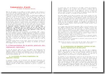 Cour de cassation, Chambre sociale, 25 septembre 1991: le règlement intérieur s'applique-t-il également à l'employeur?