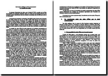 Interventions publiques et droit communautaire: le contrôle des aides