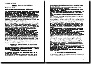 Tribunal des conflits, 15 juin 2010: Dumontet contre la Commune de Vallon-en-Sully