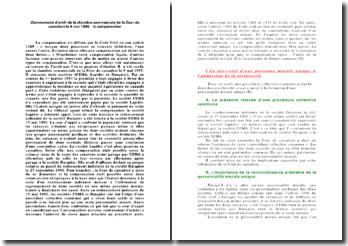 Commentaire d'arrêt de la chambre commerciale de la Cour de cassation le 9 mai 1995 : la compensation