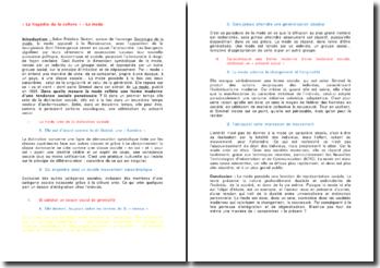 La mode - Georg Simmel: dans quelle mesure la mode reflète une forme moderne d'une tendance sociale paradoxale ?