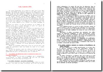 Cour de cassation, Chambre commerciale, 3 janvier 1995: la qualification entre un contrat de vente et un contrat d'entreprise